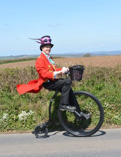 penny farthing riders for events